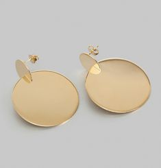 3D Assembly Round Earrings