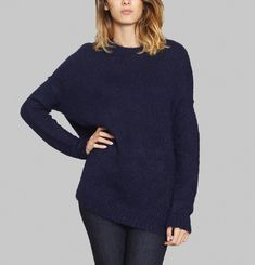 Pull Rond Oversize