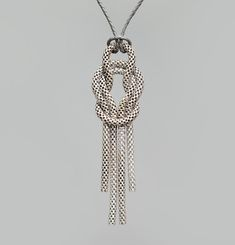 Cordage Long Necklace
