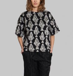 Printed Projection Blouse