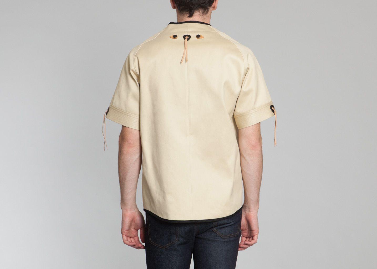 chemise baseball hoon beige en vente chez l 39 exception. Black Bedroom Furniture Sets. Home Design Ideas