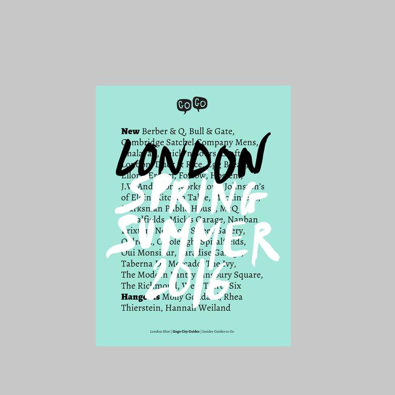 Image du produit Gogo Guide London Bleu Clair La Librairie