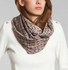 Flowered Snood