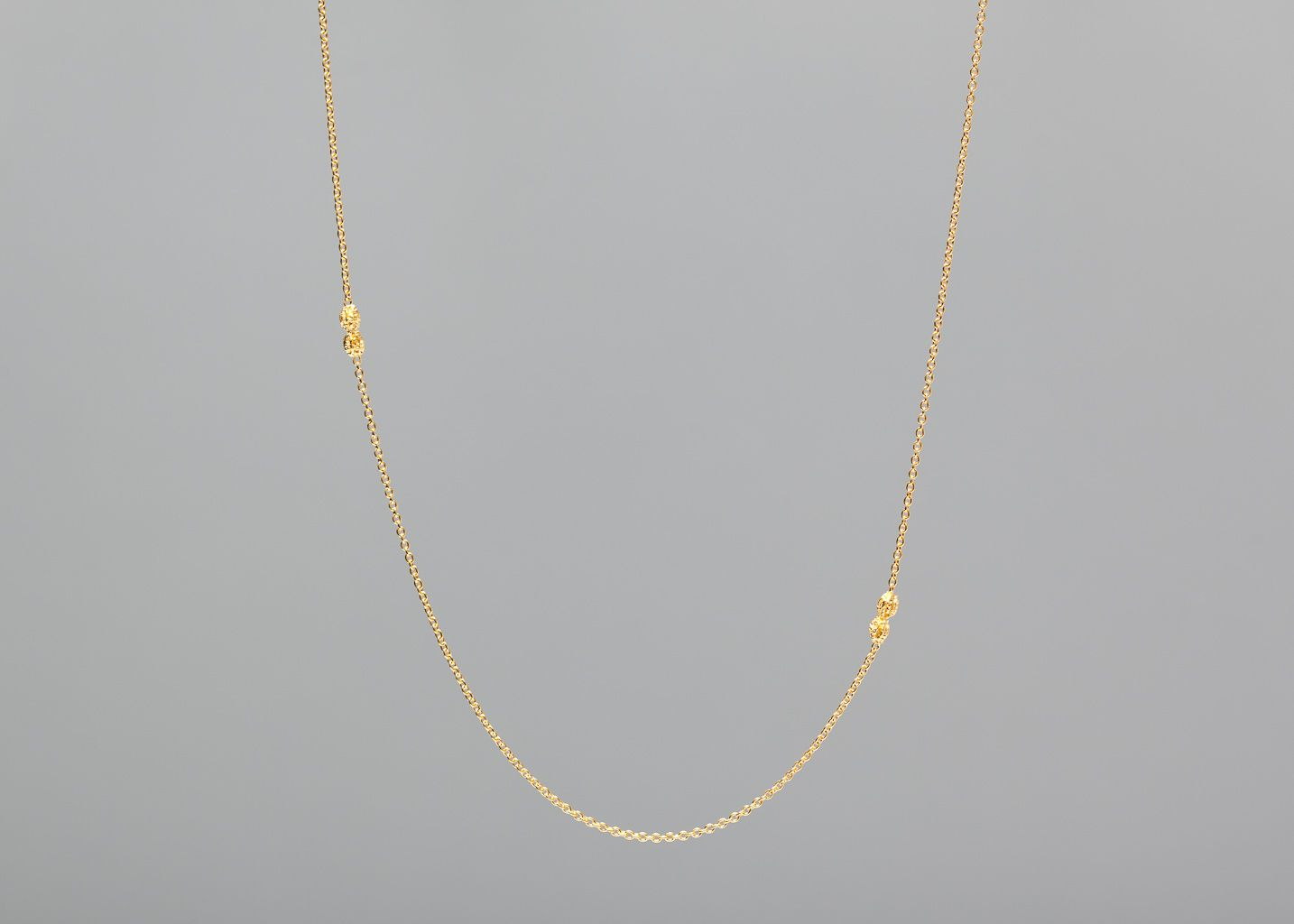 Papaya Long Necklace Vermeil - Monsieur