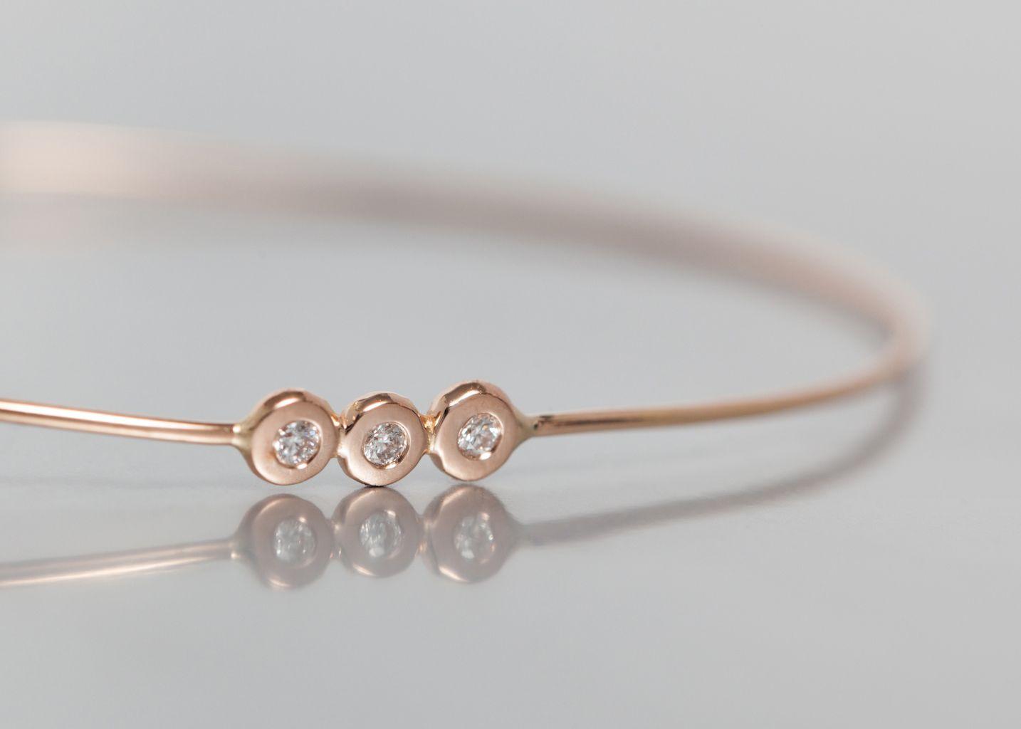 bracelet emy princesse monsieur or rose en vente chez l 39 exception. Black Bedroom Furniture Sets. Home Design Ideas