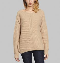 Graphic Ribbed Jumper