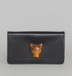 Leopard Head Purse