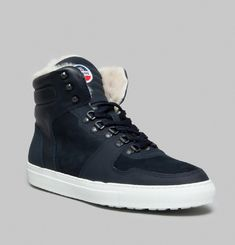Edition 1 x Fusalp High Top Trainers