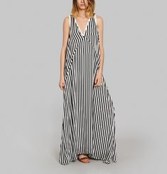 Robe Catherine Stripes