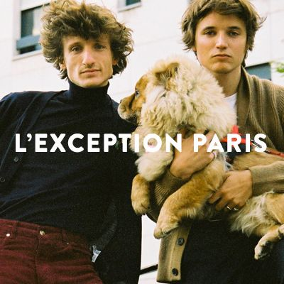 L'Exception Paris Collection #1.1 Automne 18