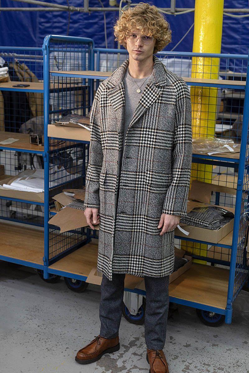 Pardessus oversize en laine vierge fabriqué en France - L'Exception Paris