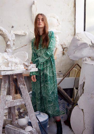 Robe Longue Imprimé Fantaisie Uma - Roseanna