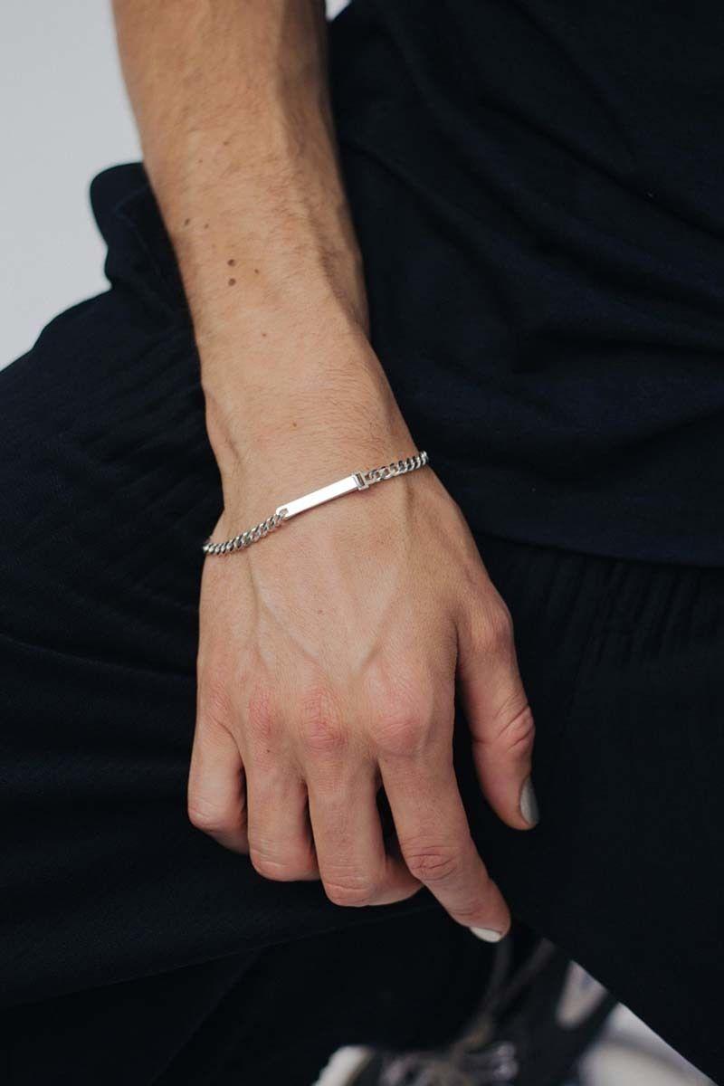 Bracelet identité étroit - Saskia Diez