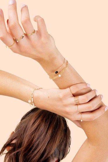 Bracelet gold filled Essentiel Forçat - YAY