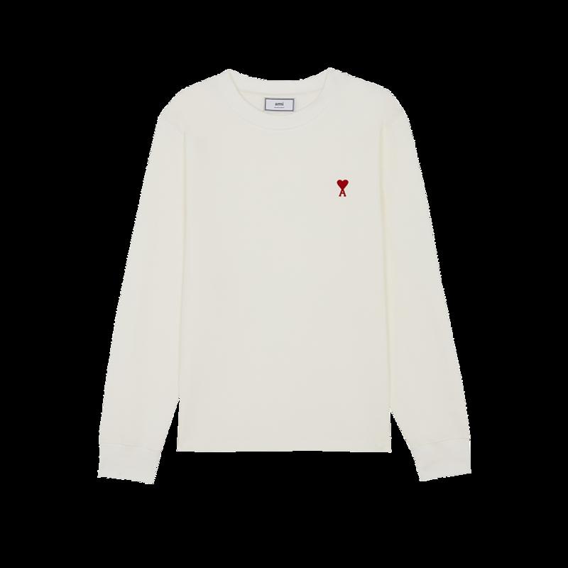 T-shirt manches longues AMI de Coeur - AMI Paris