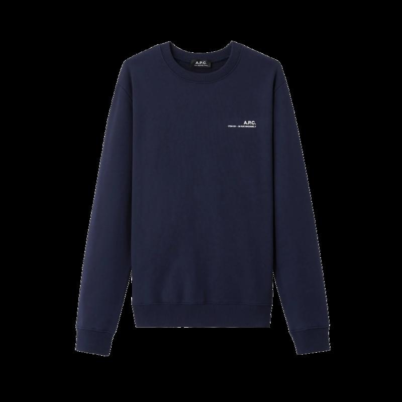 Sweatshirt logotypé Item - A.P.C.