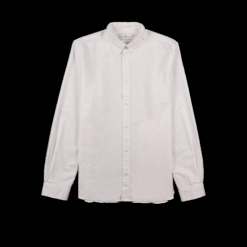 Chemise siglée en coton Oxford Kentin - Cuisse de Grenouille