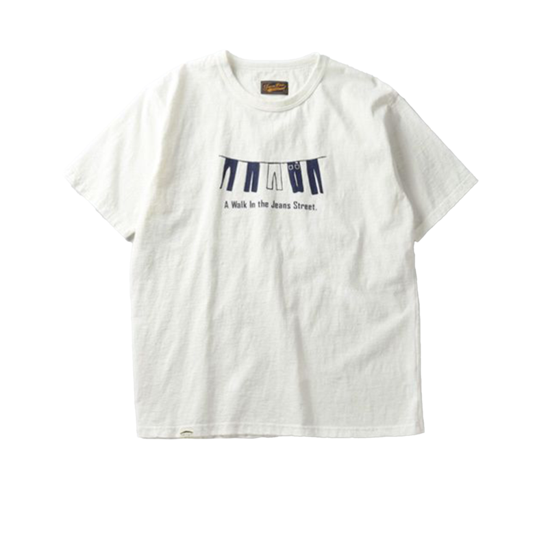 T-shirt Jeans Street - Japan Blue Jeans