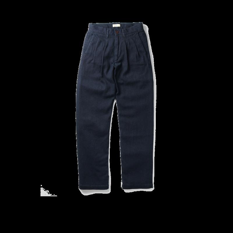 Pantalon en coton Sashiko Montpe - Japan Blue Jeans