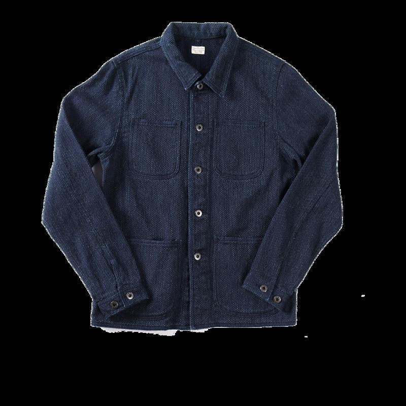Veste en coton Sashiko - Japan Blue Jeans