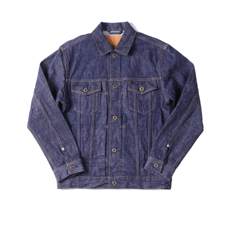 Veste en jean brut vintage - Japan Blue Jeans