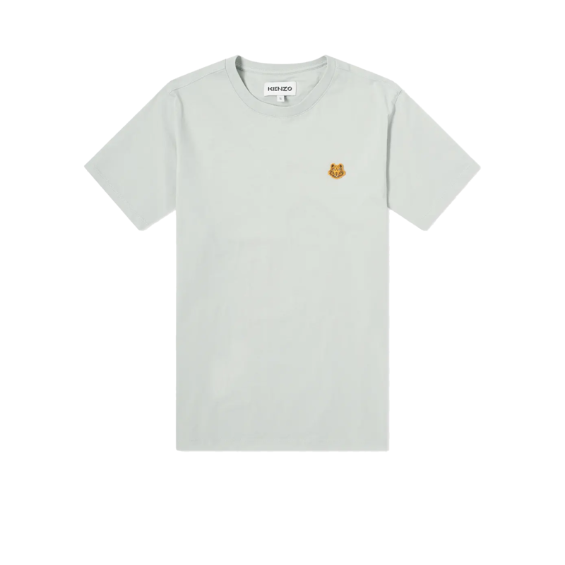 T-shirt siglé en coton bio Tiger Crest - Kenzo