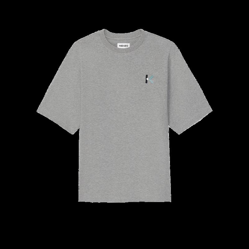 T-shirt oversize brodé logo K - Kenzo