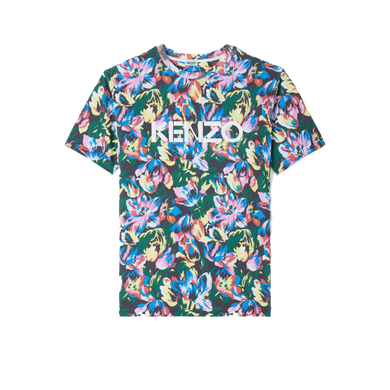 T-shirt oversize Tulipes all-over Vans x Kenzo - Kenzo