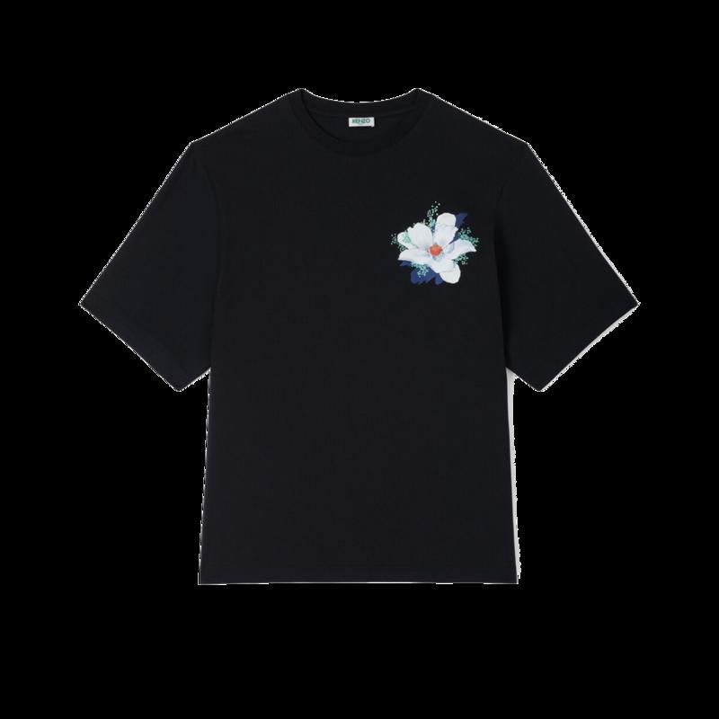 T-shirt oversize Tulipes Vans x Kenzo - Kenzo