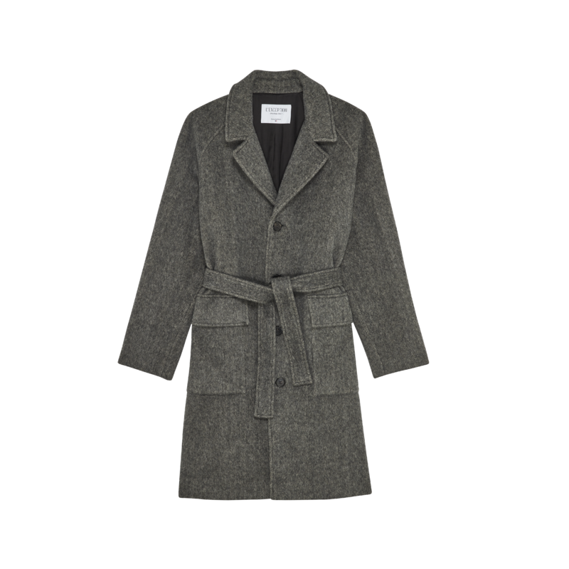 Pardessus oversize en laine fabriqué en France - L'Exception Paris