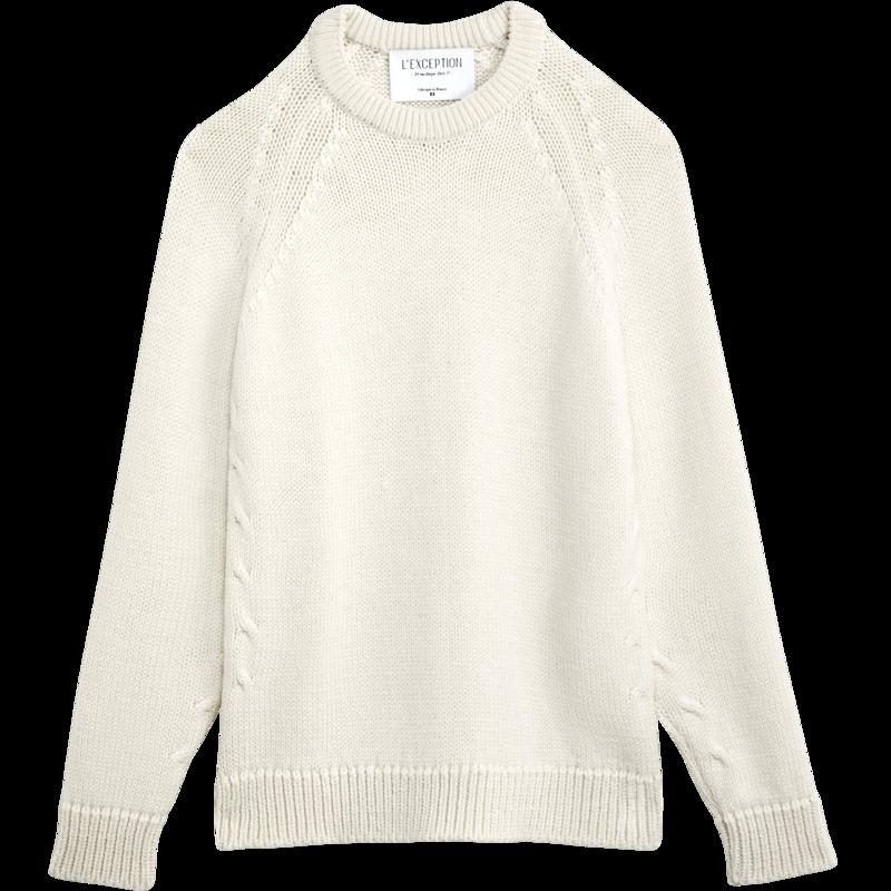 Pull en laine italienne fabriqué en France - L'Exception Paris