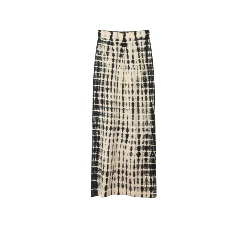 Jupe longue tie and dye en coton bio Joyeux - Leon & Harper