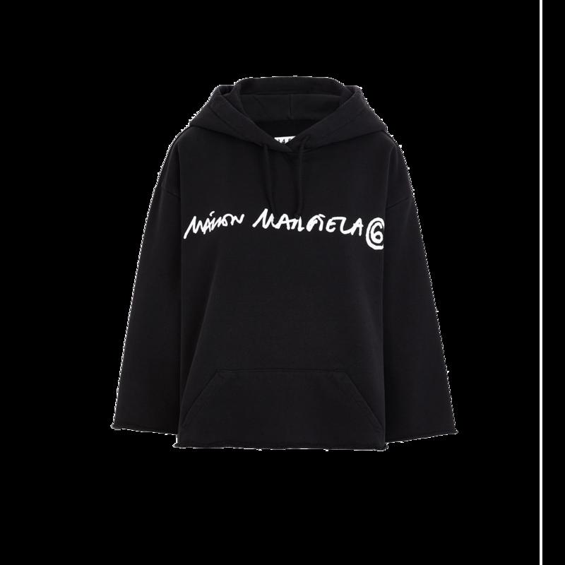 Hoodie crop signature - MM6 Maison Margiela