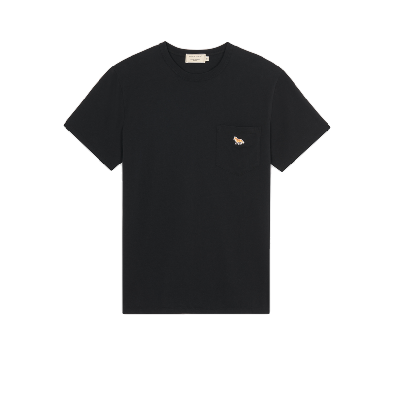 T-shirt Fox Profil patch - Maison Kitsuné