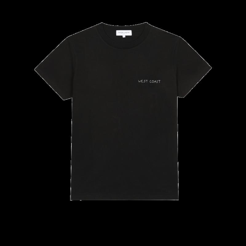 T-shirt brodé en coton bio West Coast - Maison Labiche