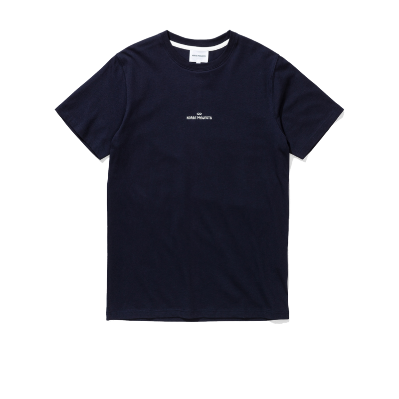 t shirt niels wave logo - Norse Projects