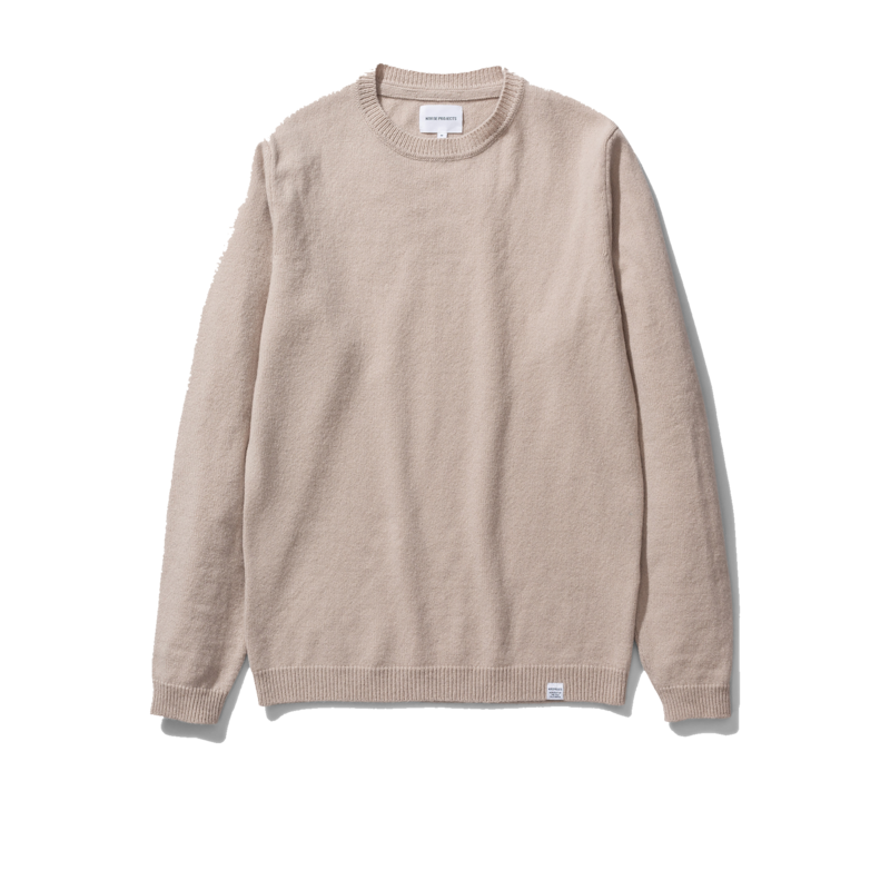 Pull Sigfred Laine d'Agneau crème - Norse Projects