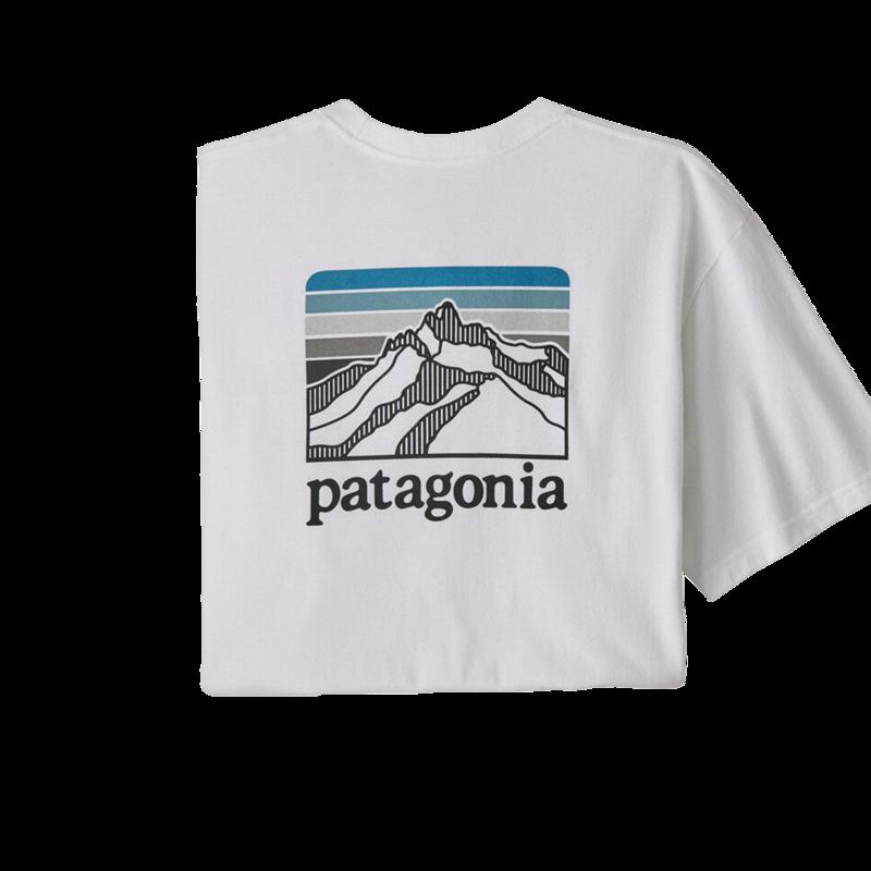 T-shirt Line Logo Ridge Pocket Responsibili-Tee - Patagonia