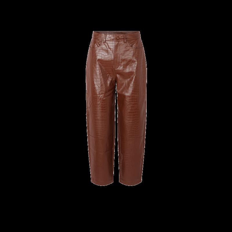 Pantalon Myla façon croco - Samsoe Samsoe