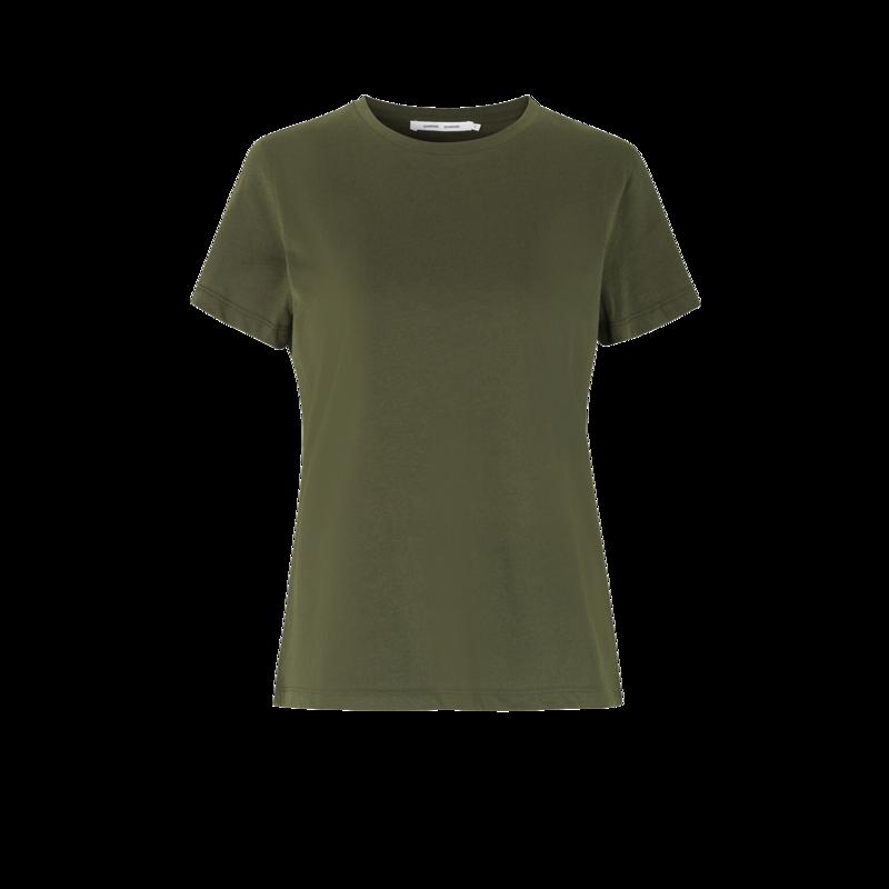 T-shirt en coton bio Solly - Samsoe Samsoe