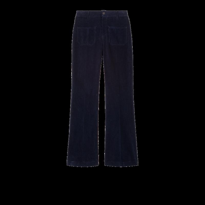 Pantalon flare en velours côtelé  - Vanessa Bruno
