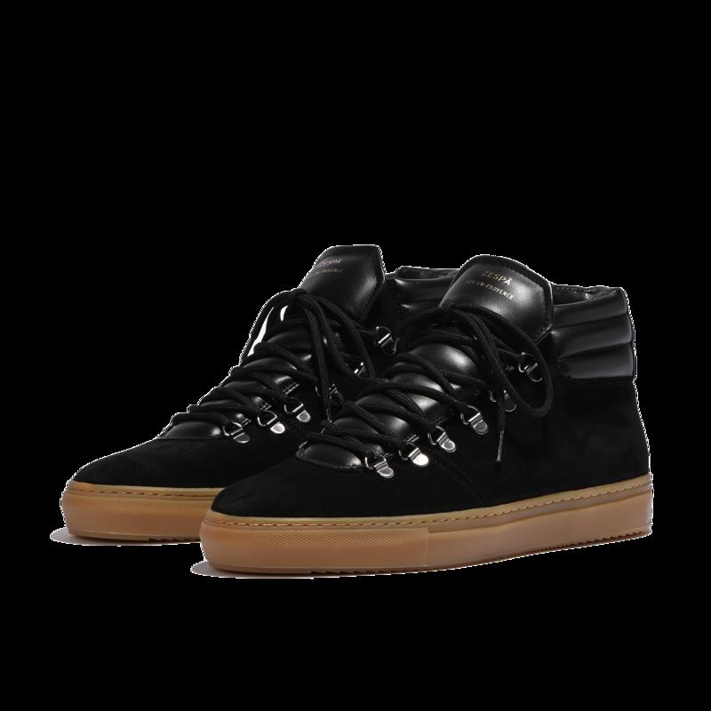 Sneakers montantes en cuir suédé ZSP2 Monochrome - Zespa