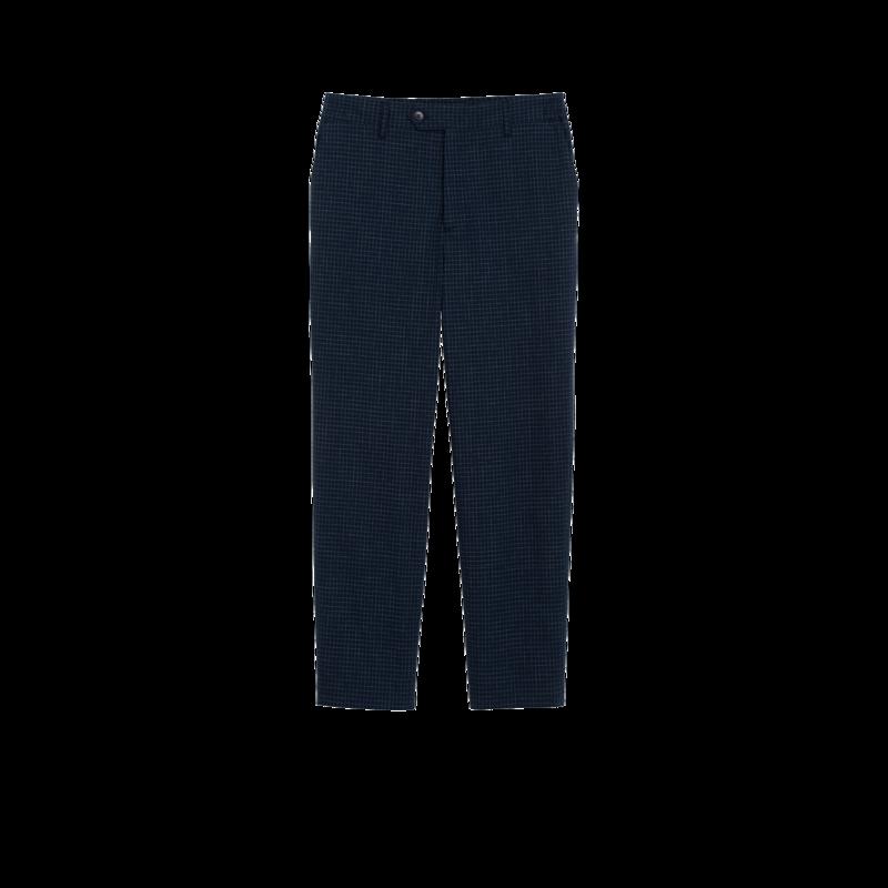 Pantalon Noamm en seersucker  - agnès b.