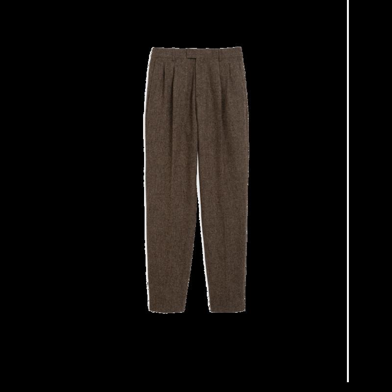 Pantalon à plis  - agnès b.
