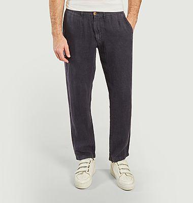 Pantalon chino en lin