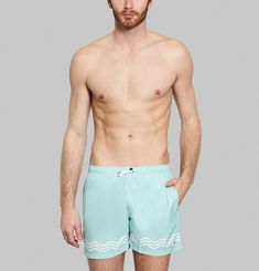 Wave Swimming Trunks