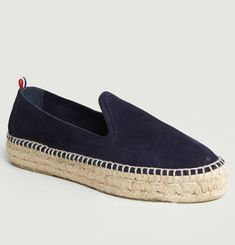 Slip On Double Cuir