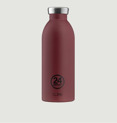 Clima Bottle 500ml Isotherme Stone Country Red