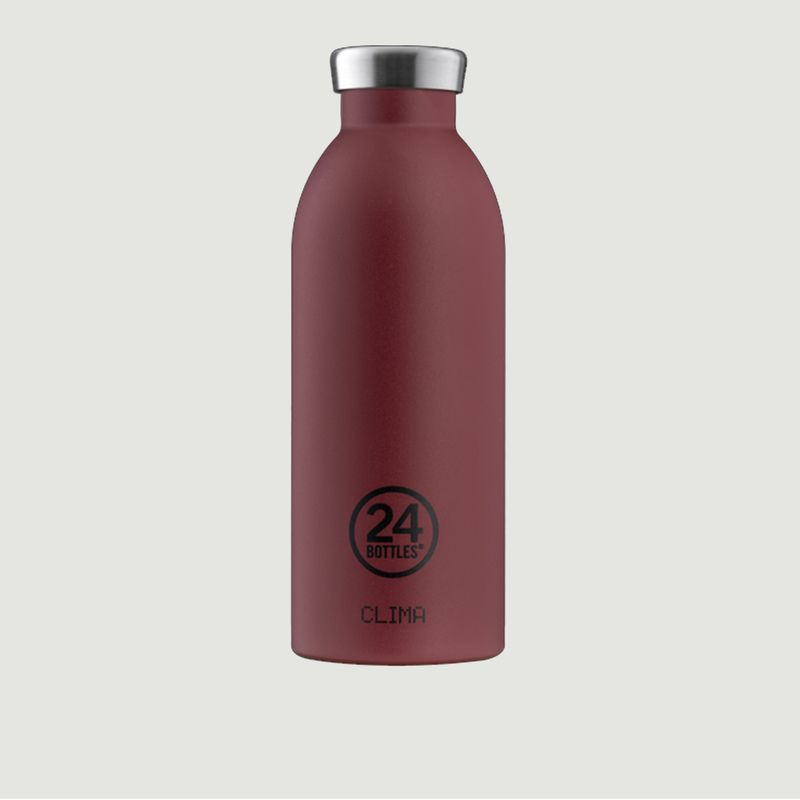 Clima Bottle 500ml Isotherme Stone Country Red  - 24 Bottles