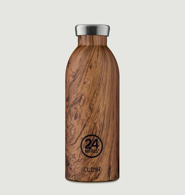 Clima Bottle 500ML Isotherme Wood Sequoia